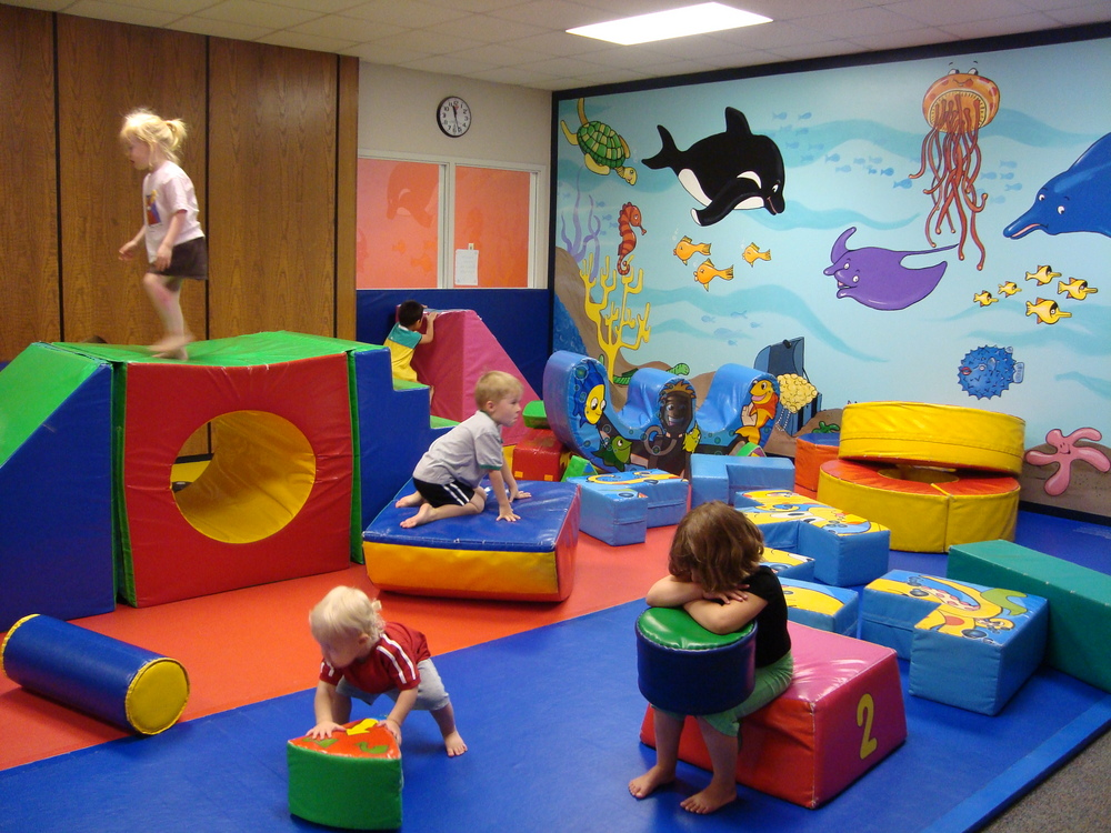 Daycare preschoolers active 2 3 of the time recreational gymnastics - Home daycare ideas for decorating ideas ...