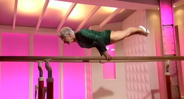 Gymnast-Grandma